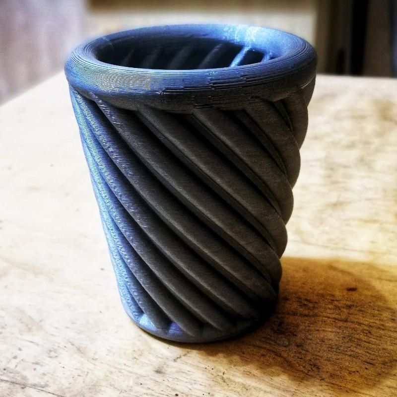 """barbara-cup.jpeg Download free STL file """"Barbara"""" cup • 3D printer template, Jarek-SRT"""