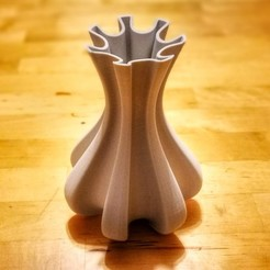 "Download free 3D model ""Cog"" vase, Jarek-SRT"