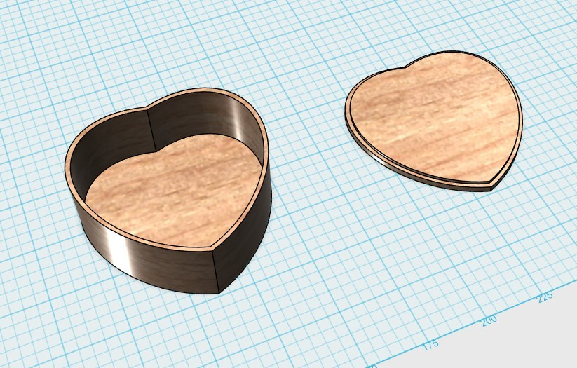 snap0059.jpg Télécharger fichier STL gratuit boîte en forme de coeur avec couvercle • Design pour imprimante 3D, 20524483