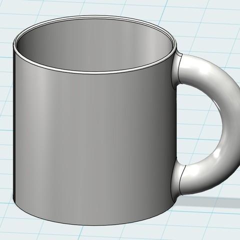 Free 3d model Cup, 20524483