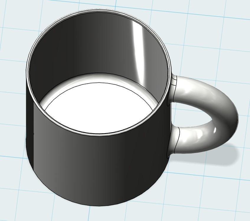 对齐2.jpg Download free STL file Cup • 3D printer object, 20524483