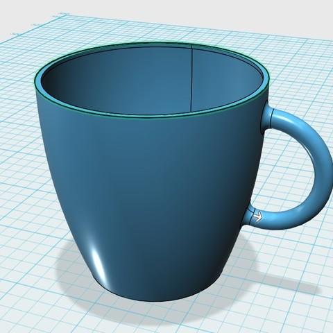 snap0080.jpg Download free STL file Cup • 3D printer object, 20524483