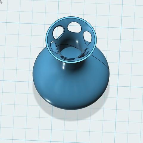 对齐5.jpg Télécharger fichier STL gratuit vase • Objet à imprimer en 3D, 20524483