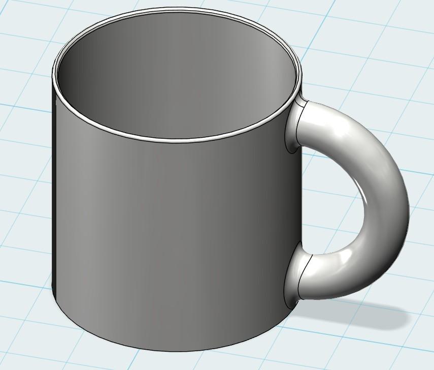 对齐3.jpg Download free STL file Cup • 3D printer object, 20524483