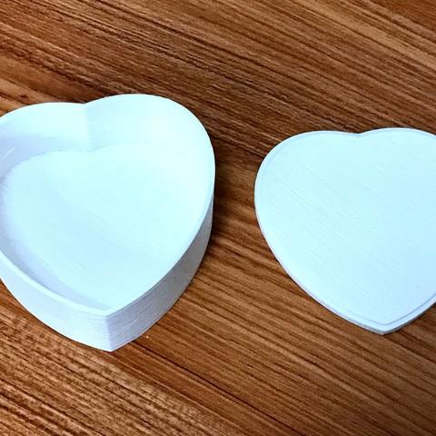 IMG_8086.JPG Télécharger fichier STL gratuit boîte en forme de coeur avec couvercle • Design pour imprimante 3D, 20524483