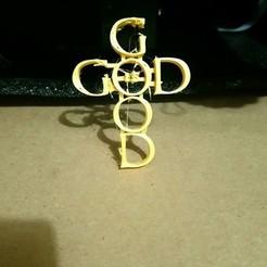 Descargar Modelos 3D para imprimir gratis Llavero Dios, isra1117