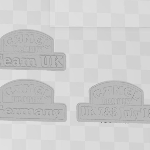 Capture 5.JPG Download free 3MF file Logos CAMEL TROPHY team's 1/10 (rc scale,crawler) • 3D printable design, RCGANG93