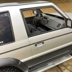 Download 3D printing templates interior for TAMIYA CC 01 Pajero, RCGANG93