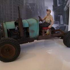 IMG_0261.JPG Download STL file Ford RATROD chassis+body+engine+wheels 1/10 (rc) • 3D printing object, RCGANG93