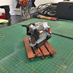 Télécharger fichier 3D Moteur TOYOTA Turbo D 1/10 (landcruiser), RCGANG93