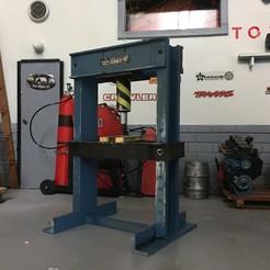 Download 3D printing files One press 1/10, RCGANG93