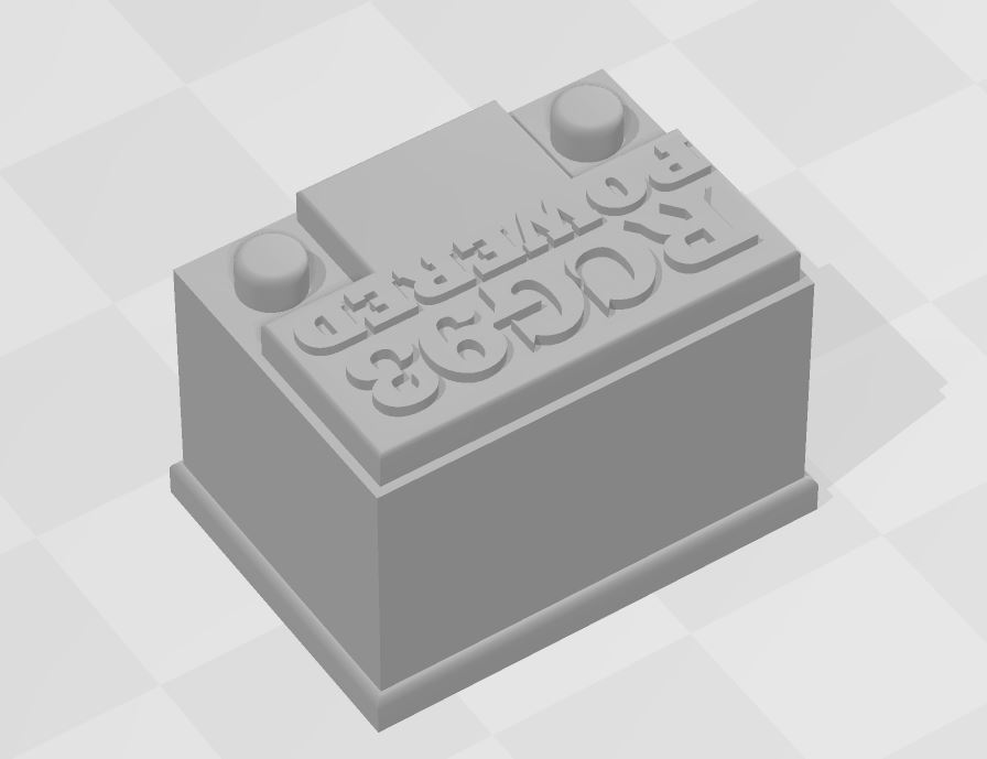 Capture 2.JPG Download free STL file Battery RC 1/10 • 3D printing object, RCGANG93