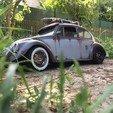 STL Rc dashboard ladybug / beetle for RC 1/10, RCGANG93
