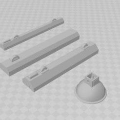 Download STL file Garage workshop lights, diorama 1/10, RCGANG93