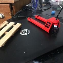 Download 3D print files Pallet truck 1/10, RCGANG93