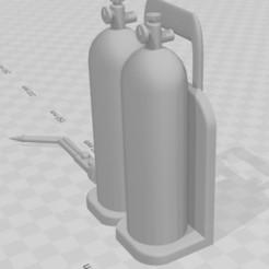 Capture 2.JPG Download STL file Torch 1/10 for garage/diorama • 3D printable model, RCGANG93