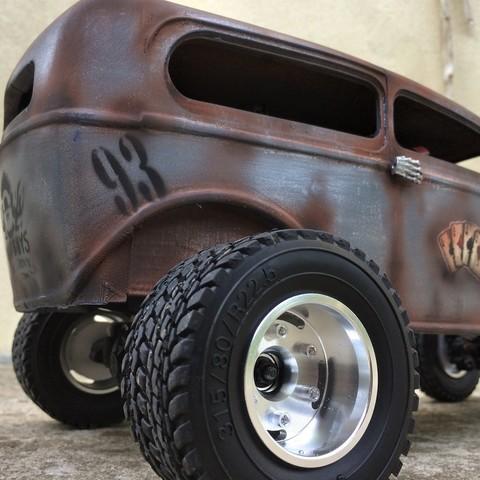 IMG_9620.JPG Download STL file Fury road hotrod bodyshell 1/10 • 3D printing design, RCGANG93