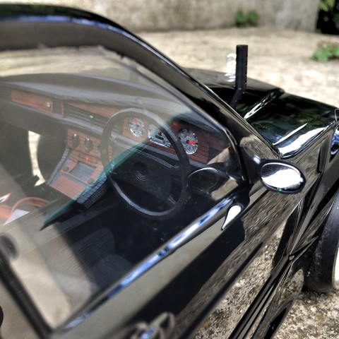 IMG_0268.JPG Download STL file MERCEDES 190 dashboard for rc 1/10 drift • 3D printer object, RCGANG93