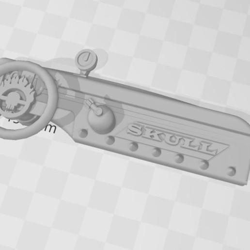 Descargar archivo 3D gratis Tablero de mandos tipo FURY ROAD Mad Max 1/12, RCGANG93
