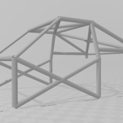 Download 3D print files Cage hoops 6pts for rc 1/10 Rally,Drift,scale,crawler, RCGANG93