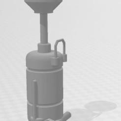 Capture 2.JPG Download STL file Garage drain pan,diorama 1/10 • Template to 3D print, RCGANG93