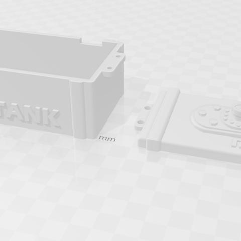 Capture.PNG Download free STL file tank rc 1/10 electro box • 3D printable model, RCGANG93