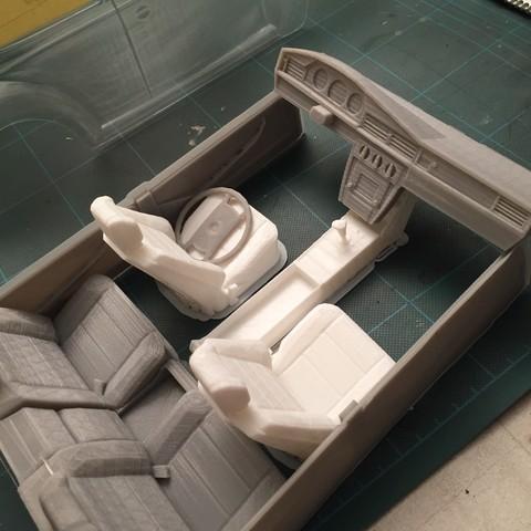 Télécharger objet 3D Intérieur Mercedes TAMIYA TT01 1/10, RCGANG93