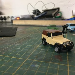IMG_3877.JPG Télécharger fichier STL VOITURE RC DIORAMA 1/100 (JEEP WRANGLER) • Plan pour impression 3D, RCGANG93