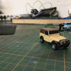 Download 3D printer model CAR RC DIORAMA 1/100 (JEEP WRANGLER), RCGANG93