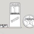 Télécharger fichier STL gratuit Panneaux pour garage 1/10 • Objet imprimable en 3D, RCGANG93