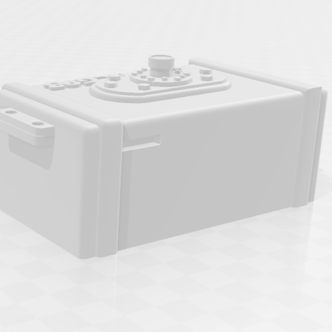 Capture 3.PNG Download free STL file tank rc 1/10 electro box • 3D printable model, RCGANG93