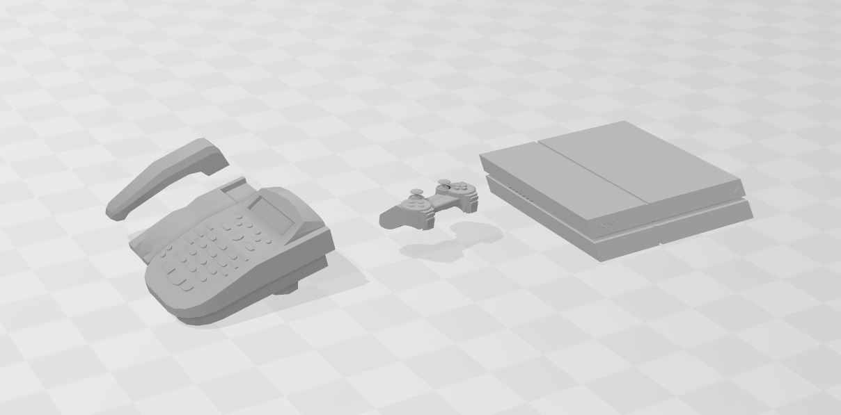 Capture.JPG Download free STL file Telephone +ps4 • 3D printer design, RCGANG93
