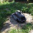 3d printer model Rc dashboard ladybug / beetle for RC 1/10, RCGANG93