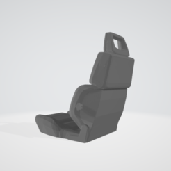 Download STL files Sport seat type rc 1/10, RCGANG93
