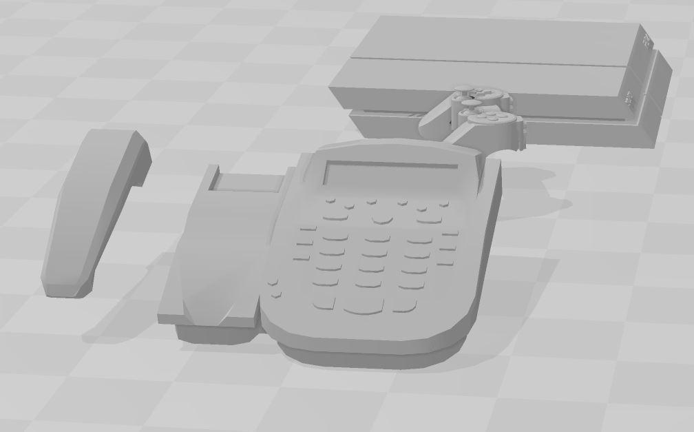 Capture 1.JPG Download free STL file Telephone +ps4 • 3D printer design, RCGANG93