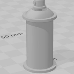 Download free 3D printer files Spray paint spray for garage 1/10 diorama, RCGANG93
