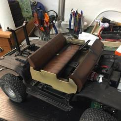 Download 3D print files Complete interior for BLAZER Chevy traxxas trx4, RCGANG93