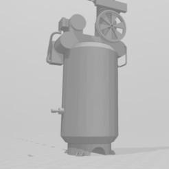 Download 3D printing models Pneumatic compressor for garage 1/10, RCGANG93