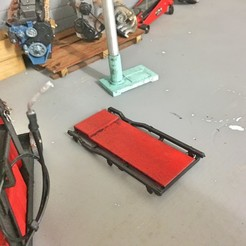Download 3D printer model Mechanic Trolley for garage or diorama 1/10, RCGANG93