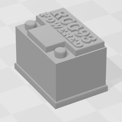 Capture.JPG Download free STL file Battery RC 1/10 • 3D printing object, RCGANG93