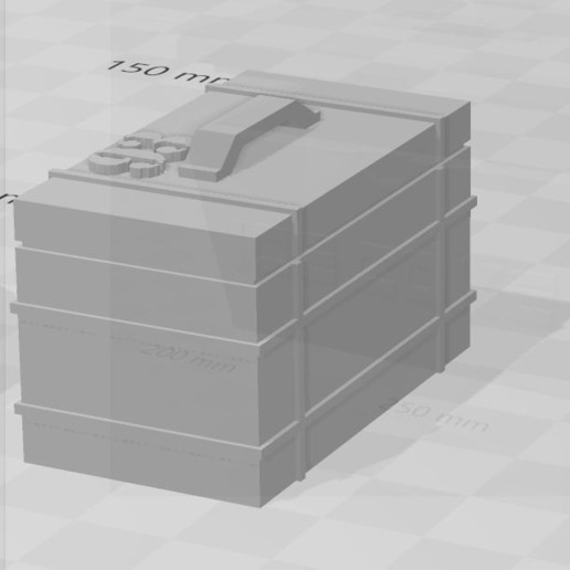 Capture 3.JPG Download free STL file Accessory 1/10 for RC /Diorama • 3D print design, RCGANG93