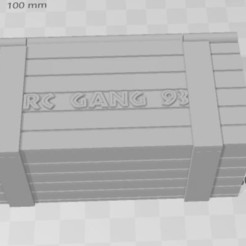 Download free STL file Battery box for RC • 3D printing template, RCGANG93