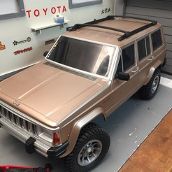 Download 3D printing files Gallery for body 1/10 CHEROKEE XJ, RCGANG93