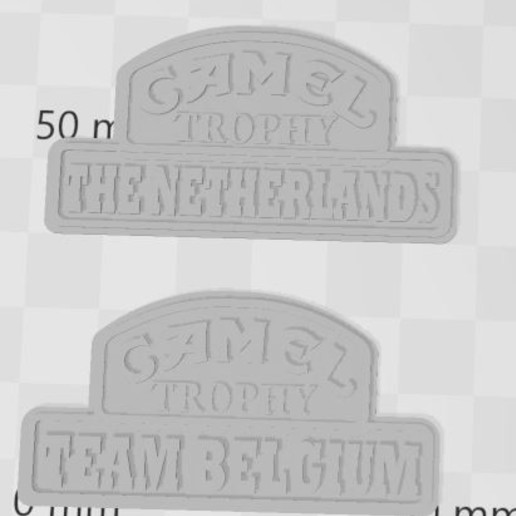 Capture 4.JPG Download free 3MF file Logos CAMEL TROPHY team's 1/10 (rc scale,crawler) • 3D printable design, RCGANG93