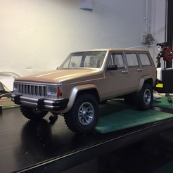 Download 3D model Rims RC Cherokee chief 1/10, RCGANG93