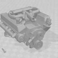 Capture.JPG Download STL file V8 RANGE ROVER classic 1/10 engine for RC (cover 540) • 3D printing design, RCGANG93