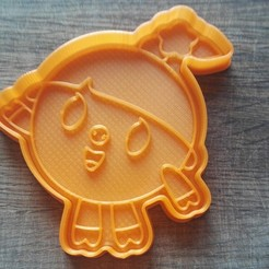 "IMG_20180303_140536.jpg Download STL file COOKIE CUTTERS. FORM FOR CUTTING A COOKIE ""smeshariki nyusha"" • 3D print template, dejavydejavy"