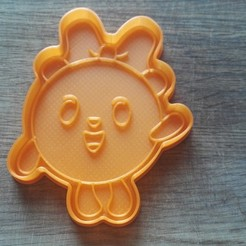 "IMG_20180303_140726.jpg Download STL file COOKIE CUTTERS. FORM FOR CUTTING A COOKIE ""smeshariki pandochka"" • 3D printable model, dejavydejavy"