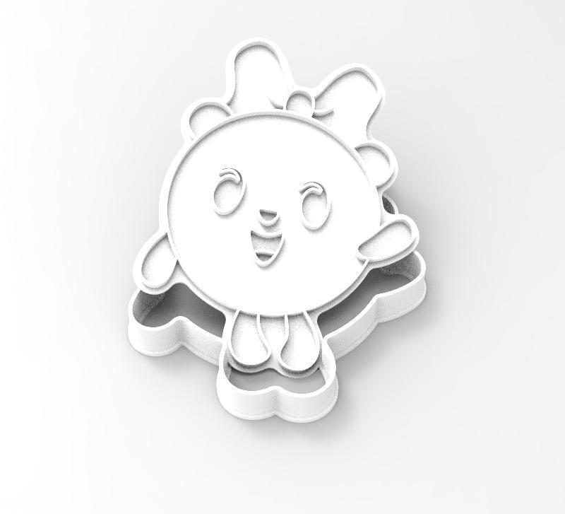 "100_pandochka.jpg Download STL file COOKIE CUTTERS. FORM FOR CUTTING A COOKIE ""smeshariki pandochka"" • 3D printable model, dejavydejavy"