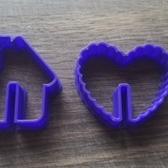 "Free 3D print files COOKIE CUTTERS. FORM FOR CUTTING A COOKIE ""Cookies on a mug"", dejavydejavy"